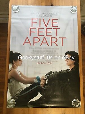 Five Feet Apart DS Theatrical Movie Poster 27x40