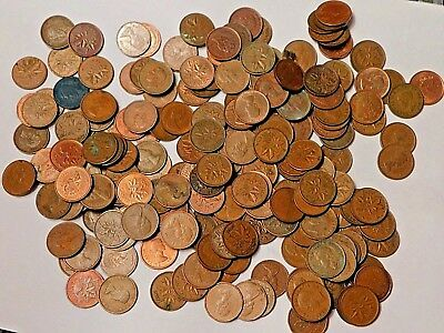 Roll of Canadian Pennies