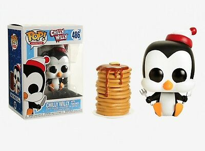 Funko Pop Animation: Chilly Willy - Chilly Willy w/ Pancakes Vinyl Figure #32887