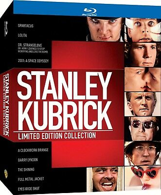 STANLEY KUBRICK LIMITED EDITION COLLECTION Rare OOP Blu-Ray Boxset New & Sealed