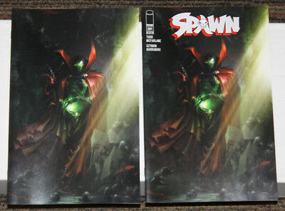 Image Spawn #291 TWO COVER SET - BOTH A & B  Gorgeous Mattina Cover!