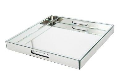 Mirrored Serving Tray BNWT Large