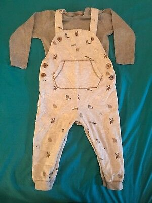 baby boys NEXT dungarees age 12-18 months