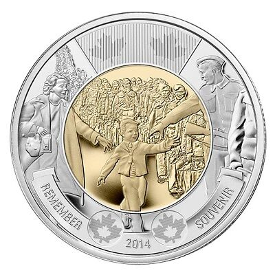 2014 Canada Wait For Me Daddy Coin Pack