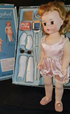 "Vintage Madame Alexander 15""  Marybel doll that gets well in box."