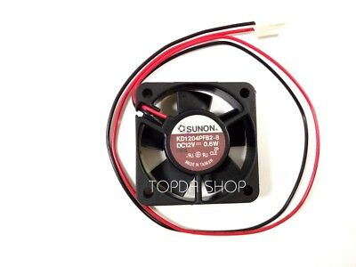 1PCS Sunon KDE1204PFB1-8 fan 12V 0.7W 40*40*10mm 2Pin #M256 QL KC6