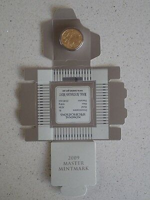 2009 Master Mintmark C $1 One Dollar Coin Uncirculated Carded