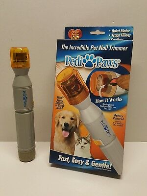 Pedi Paws Pet Nail Trimmer Fast Easy Gentle Nail Trimmer Pet Supplies