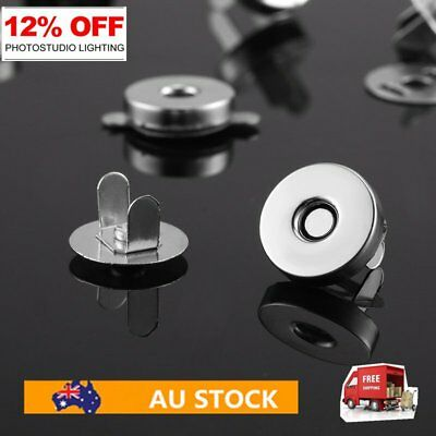 20pcs Bag Purse Clasps Magnetic Buttons Snaps Fasteners Handbag Craft Buttons FK