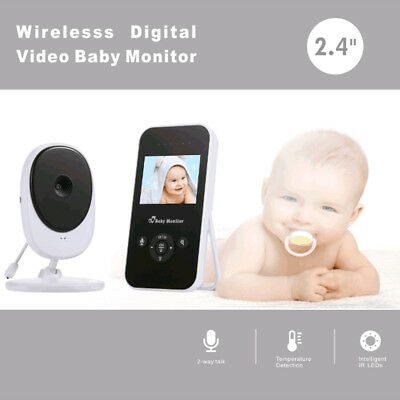 2.4 LCD Baby Pet Monitor Wireless Digital Audio Video Camera Security AU Stock