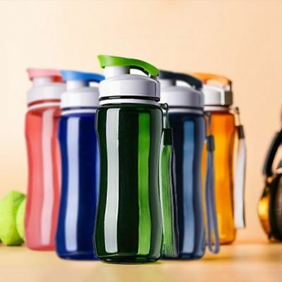 New Water Beautiful Drink Bottle with Leak Proof Usable Flip Up Sports School