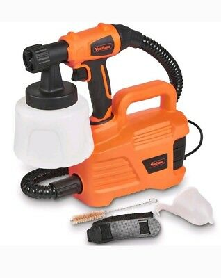 VonHaus Paint Sprayer 800W, Powerful 1100ml/Min Flow Rate Painting Station