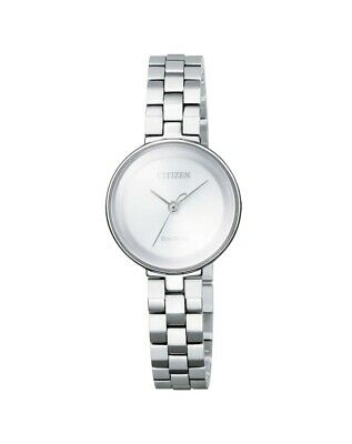 NEW Citizen Ladies Gold Stainless Steel Eco-Drive Dress Watch - EW5500-57A