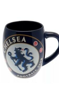 Chelsea Fc Tea Tub Mug Ceramic Coffee Cup Fathers Day Birthday Gift