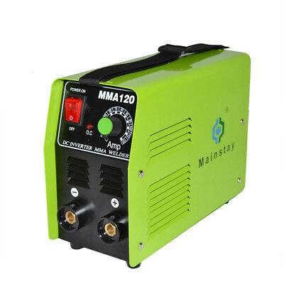 110V/220V MMA-120 Welding Machine DC Inverter MMA Welder US