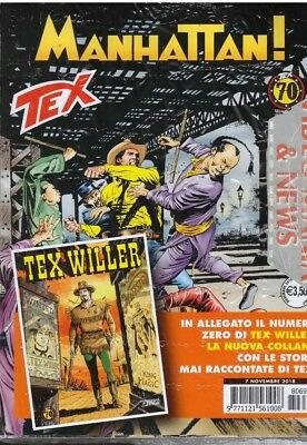 Tex 697 Manhattan+Tex Willer 0 .sergio Bonelli Editore
