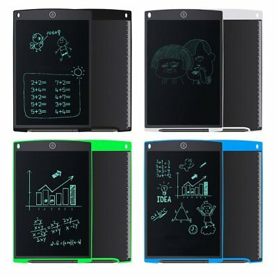 12-Inch LCD Handwriting Board Electric Writing Drawing Tablet Notepad W/Pen TM