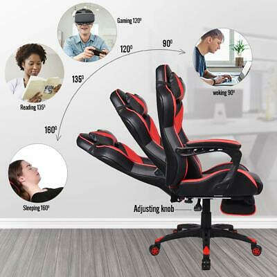 Executive Computer Gaming Chair Recliner Seat Adjustable High Back Office Luxury