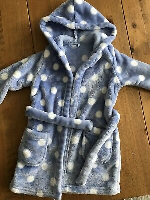 Girls M&S Dressing Gown 12-18 Months