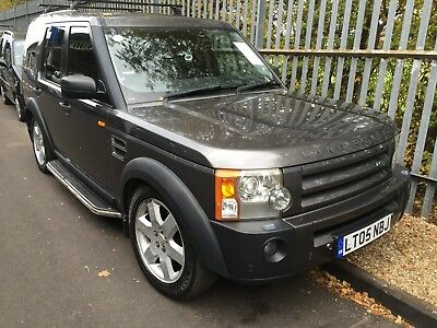 2005 Land Rover Discovery 3 2.7 Tdv6 Hse - Leather, 7 Seats, Sat-Nav, High Miles