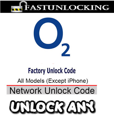UNLOCK CODE SERVICE FOR O2 UK ( NOKIA LUMIA SAMSUNG HTC LG Huawei ) ANY OTHERS