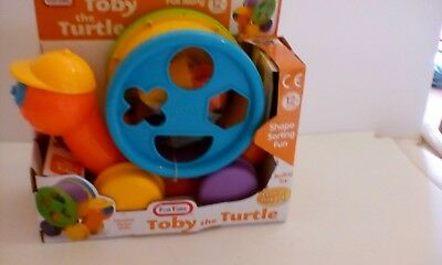 Toby The Turtle Activity Toy - Kids Baby Toddler