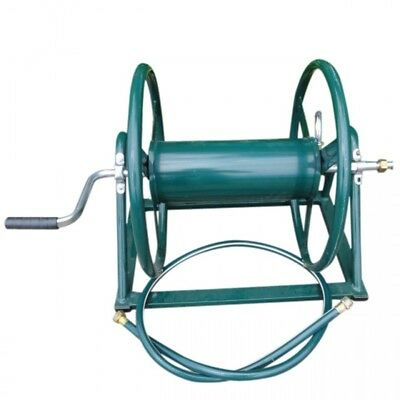 ZORRO Mountable Hose Reel Heavy Duty Powder Coated Steel hold up to 120m of hose