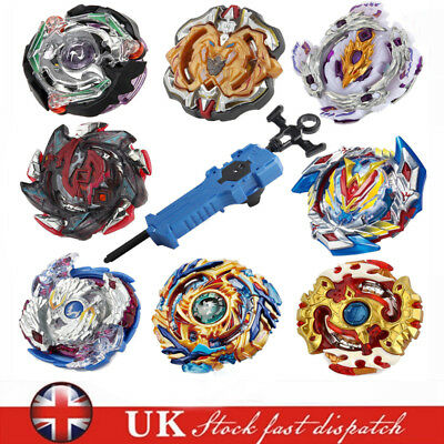 Beyblade Burst Starter W/ Set Toy Bayblade Top B With Grip Launcher With Box