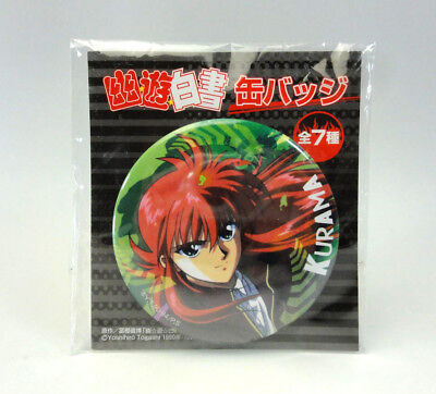 Yu Yu Hakusho Pin Badge/ Can Badge Kurama JAPAN