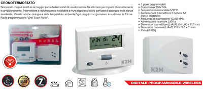 Kmc-433 Cronotermostato Wireless