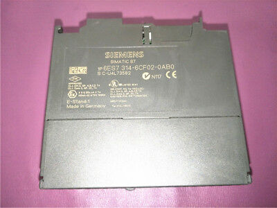 1PC USED  Siemens  6ES7314-6CF02-0AB0