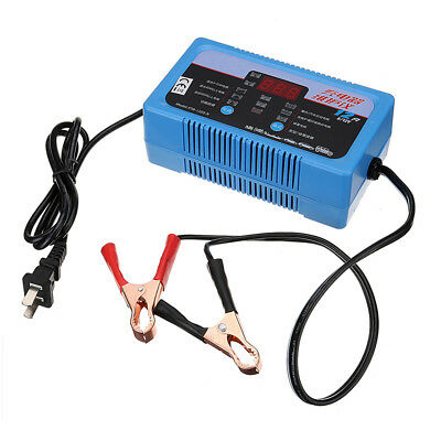 12V/6V 4A-12A Smart Battery Charger for Lead Acid and Lithium Batteries