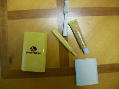 Eastern Airlines first class toothbrush set. Unused
