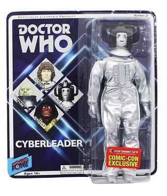 """Doctor Who Cyberleader Retro Clothed 8"""" Action Figure"""