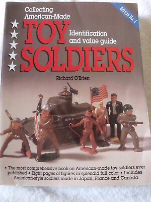 TOY SOLDIERS, COLLECTING AMERICAN MADE Id Photo & Value 3rd edition book