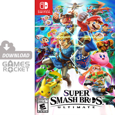 Super Smash Bros. Ultimate - offizieller Nintendo Switch eShop Code
