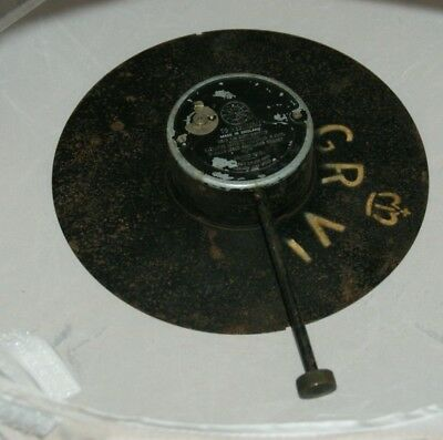 Smiths WWII Military Wall Clock Face Back Plate & Movement