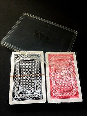 PLAYING CARDS-100% PLASTIC,Poker Gaming Snap etc Deck Kings Queens Ace 2 IN Pack