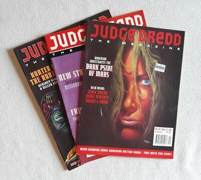 Judge Dredd Megazine Vol 2 #28, 29 & 30 ALL F - VF
