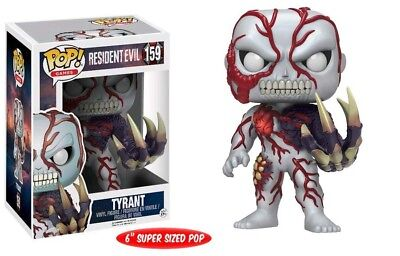 Funko Pop Games Resident Evil 159 Tyrant 15cm 6'' Super Sized Sticker Exclusive