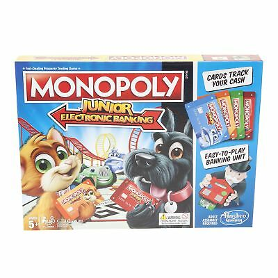 Hasbro Kids 'Monopoly Junior Electronic Banking' Property Trading Game
