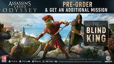 Assassin's Creed Odyssey – The Blind King DLC XBOX ONE (No game- DLC only) UK/EU