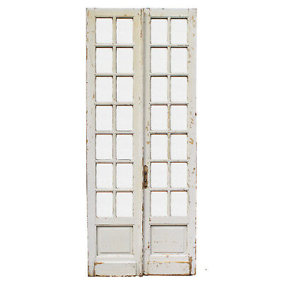 "Pair of Antique 44"" Doors, NED920"