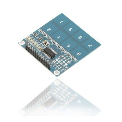 TTP226 8-Way Channel Capacitive Touch Switch Digital Touch Sensor Module