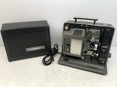 Vintage University Of Pitt 60s Bell & Howell 535 Filmosound Movie 16mm Projector