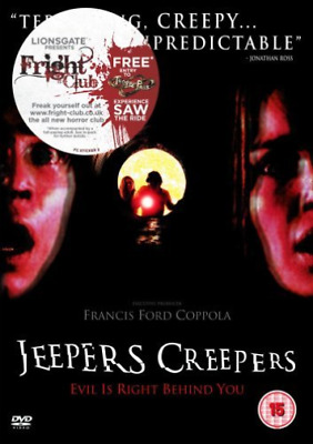 Gina Philips, Justin Long-Jeepers Creepers DVD NEW