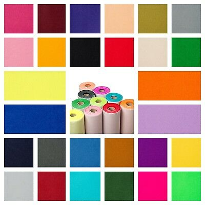 "Sticky Back Self Adhesive 9"" Felt Fabric Squares in 48 Colours BUY 2 GET 1 FREE!"