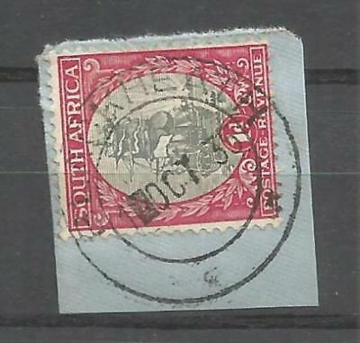 Union of South Africa Postmark Blackheath Cape 01.10.1935 on small piece