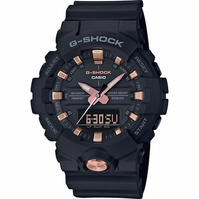 Casio G-Shock Ga-810B-1A4 Analog Digital Rose Gold Edition Watch