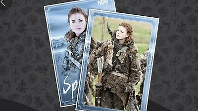 Quidd Game Of Thrones Spearewife Complete Set [Digital] 1st Edition